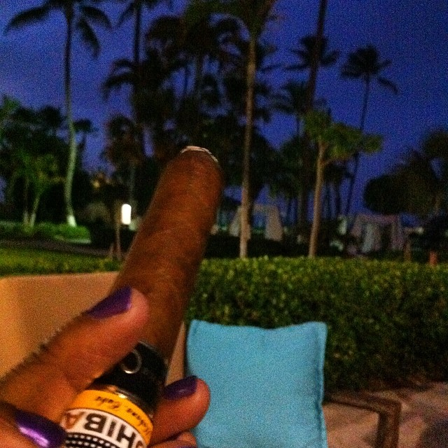 Cigars in paradise