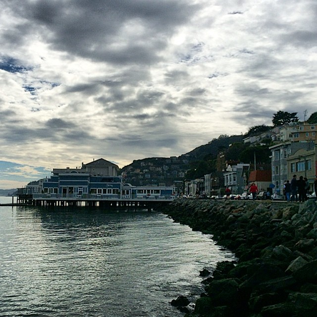 The clouds can't damper the beauty of Sausalito, CA. By land or sea, you will enjoy your time in this seaside charmer.