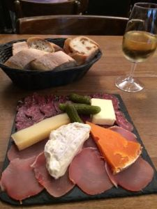 Charcuterie goodness in Montmartre