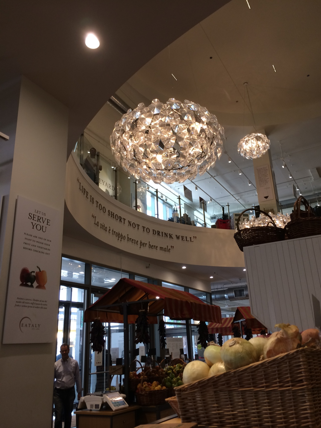 Eataly Chicago housing many of my favorite temptations under one lovely roof.