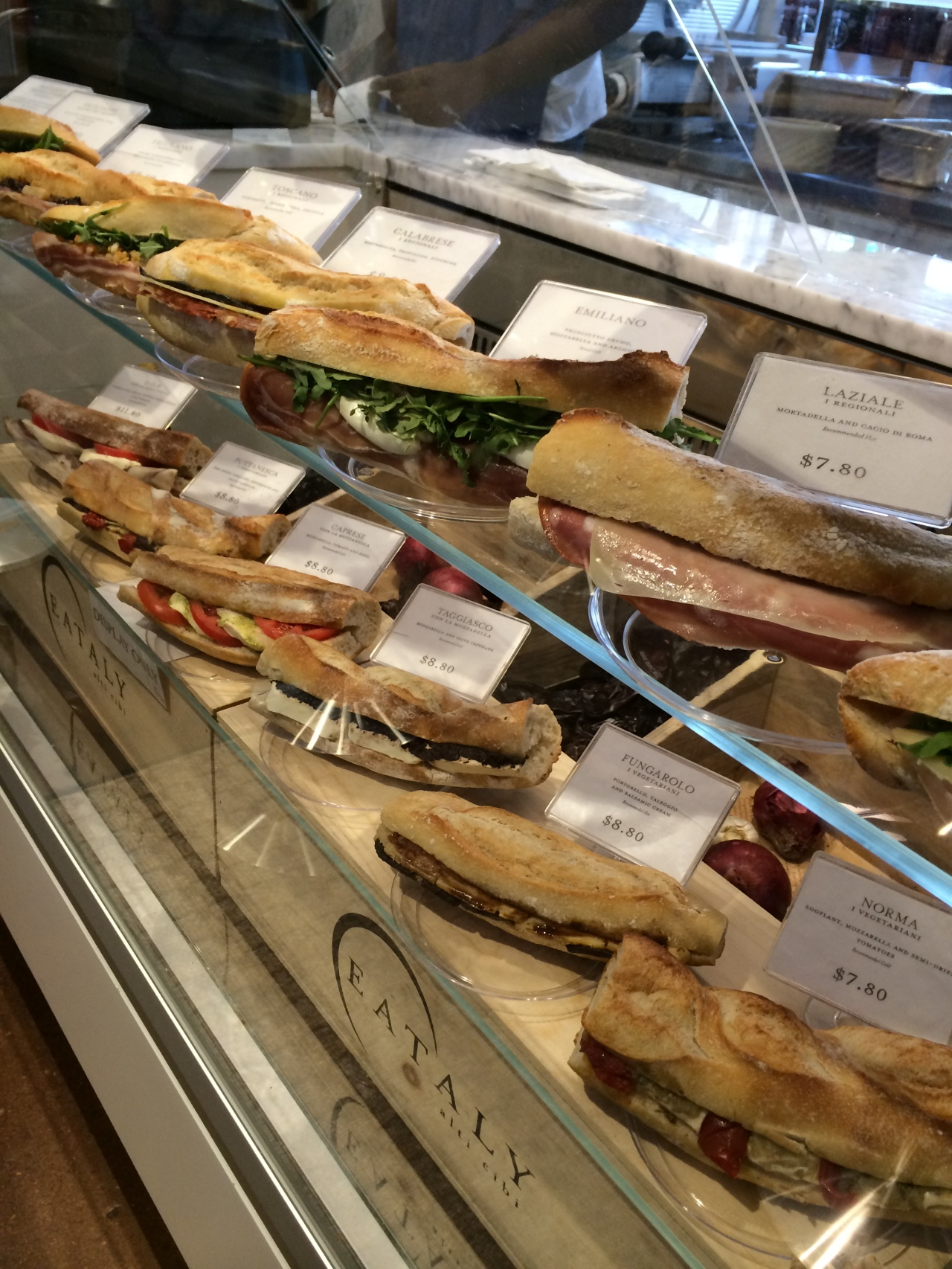 Grab a made to order sammie and a beverage for a quick lunch.