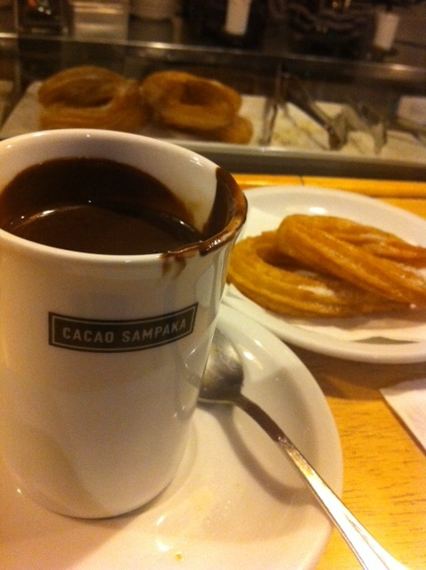Heaven in a cup AKA drinking chocolate from Cacao Sampaka in Barcelona