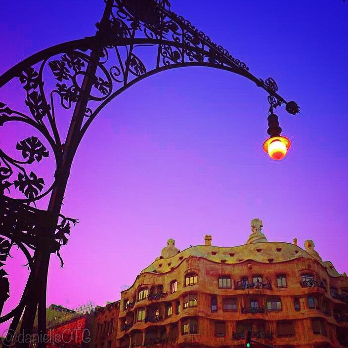 Antoni Gaudi's Casa Mila aka La Pedrera. No right angles? No problem.