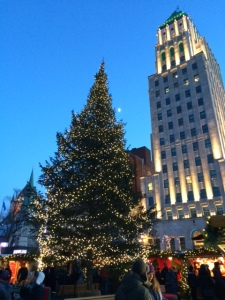 Christmas Tree in Old Quebec