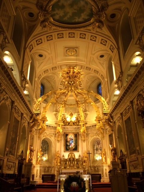 Gold Alter Notre Dame