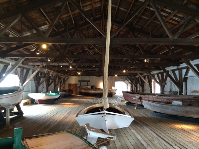 Be sure to check out the boat shed during your time in St. Michaels.