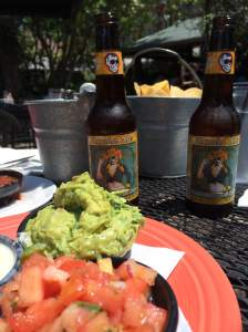 Sunny patio, guac, beers and good friends. What else do you need?