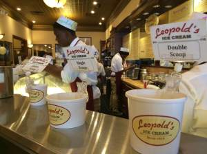 I Scream of Leopold's Ice Cream