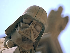 There is Gargoyle Tour offered at the cathedral. Bring your binoculars. Photo cred: National Cathedral.