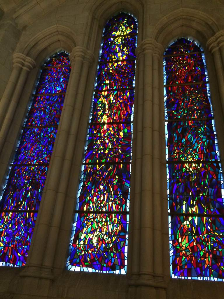 Beautiful stain glass windows