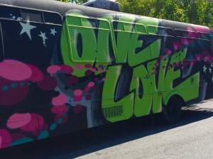 One Love Bus - good vibes in the air
