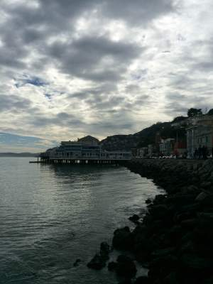 Cloudy day in Sausalito