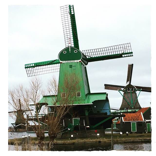 Today's On The Photo: Chasing Windmills in Zaanse Schans